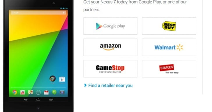 2013 Nexus 7 stock availability bewilderment