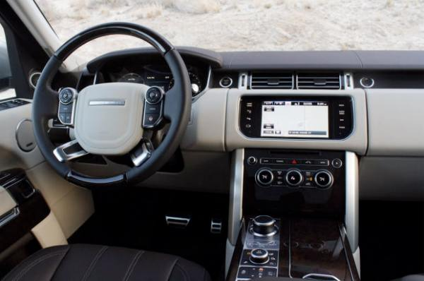2013 Range Rover interior delight