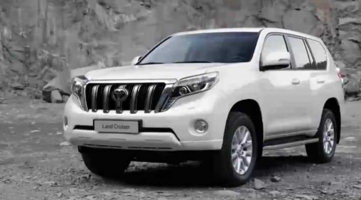 2014 Toyota Landcruiser Prado visual teaser