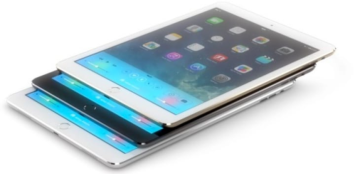 2013 iPad concept with fingerprint sensor by Martin Hajek