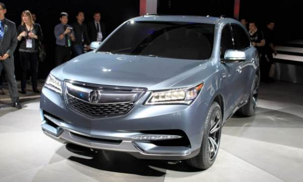 2014 Acura MDX and RLX specs impress during unveil