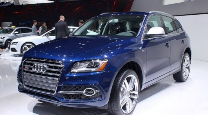 2014 Audi SQ5 price for US spec is favorable