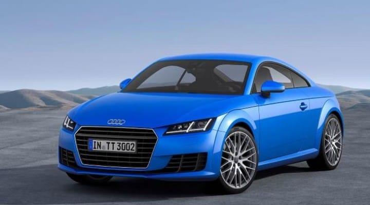 2014 Audi TT showcased at the Geneva Motor Show