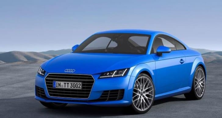 2014 Audi TT showcased at the Geneva Motor Show