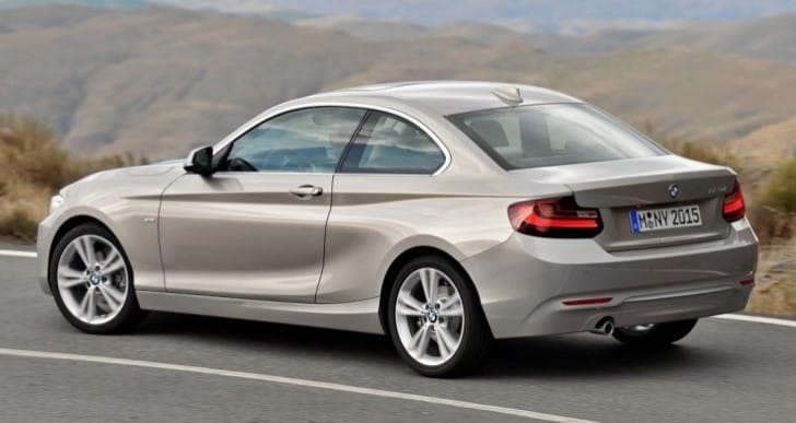 2014 BMW 2 Series configuration options live