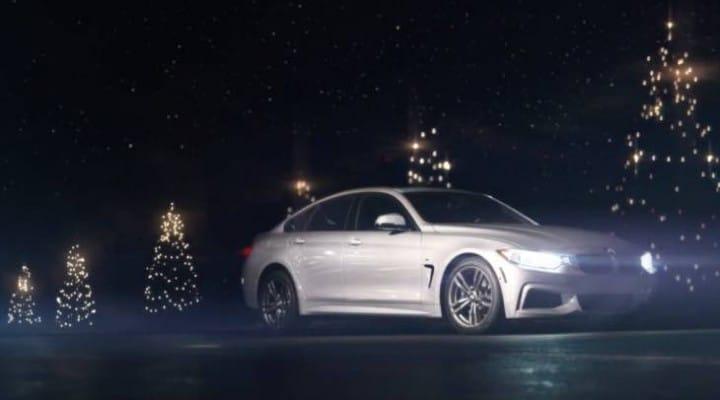 2014 BMW Christmas car commercial trio