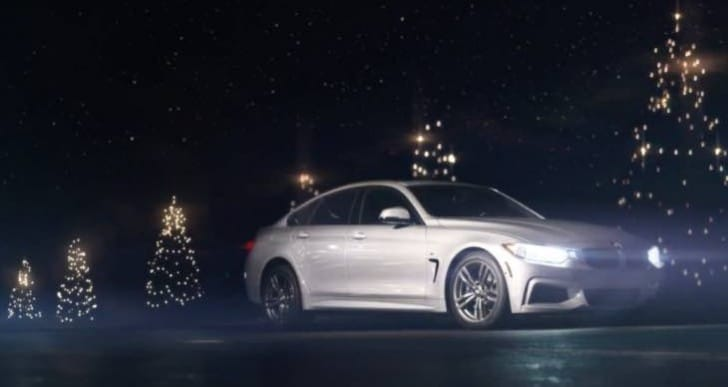 2014 BMW Christmas car commercial trio