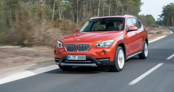 2014 BMW X1 parking footprint like Range Rover Evoque, Ford Escape