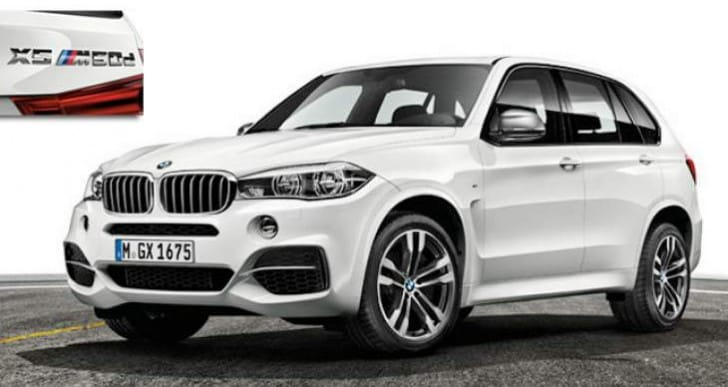 2014 BMW X5, M Sport and M50D new eye candy