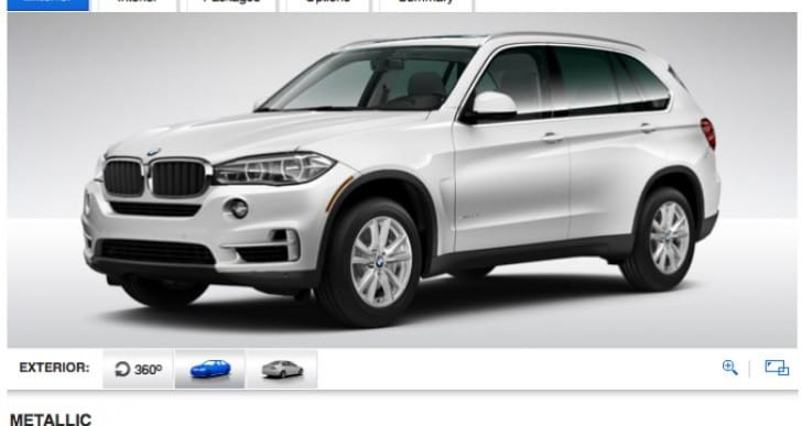 2014 BMW X5 interior and exterior options detailed