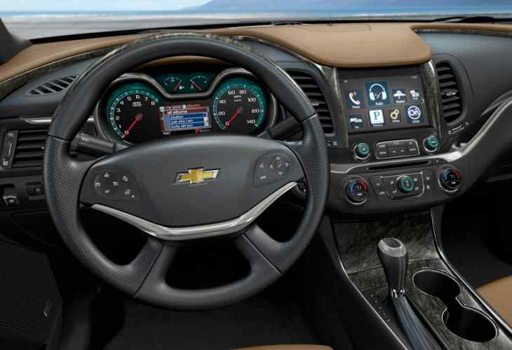 2014 Chevrolet Impala privacy feature visual review