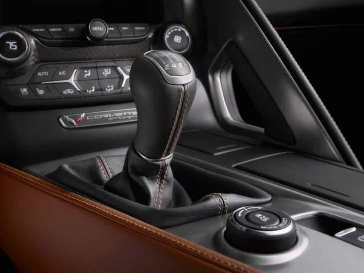 2014 Chevy Corvette Stingray with manual transmission