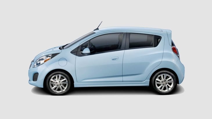 The 2014 Chevy Spark has more power than its gasoline counterpart
