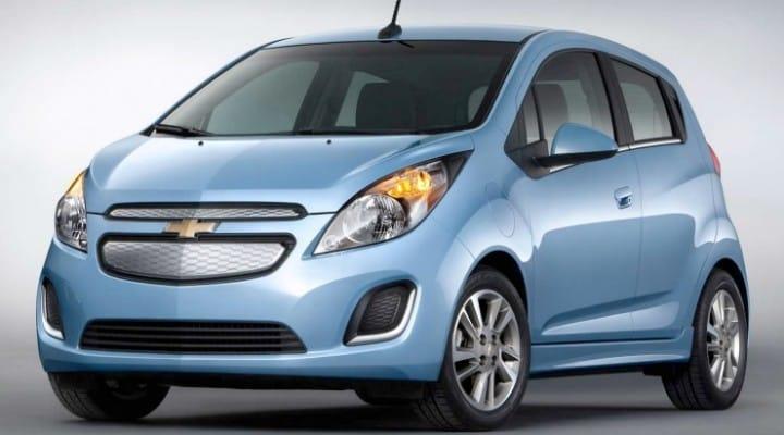 2014 Chevy Spark EV visual review