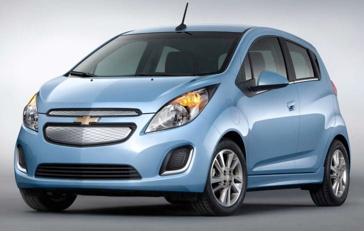 2014 Chevy Spark EV visual review