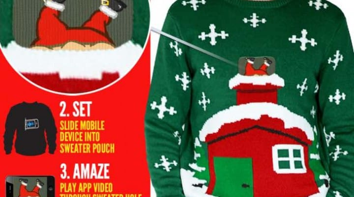 2014 Christmas sweater ideas with smartphone app