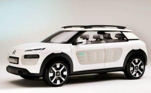 2014 Citroen C4 realized in Cactus concept