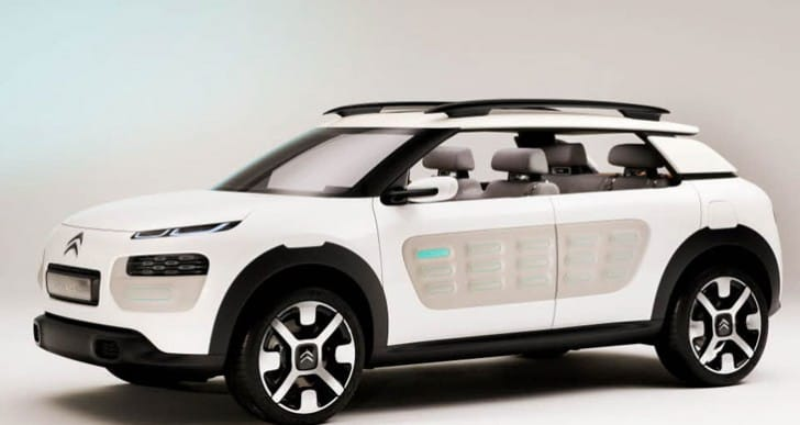 2014 Citroen C4 realized in Cactus concept