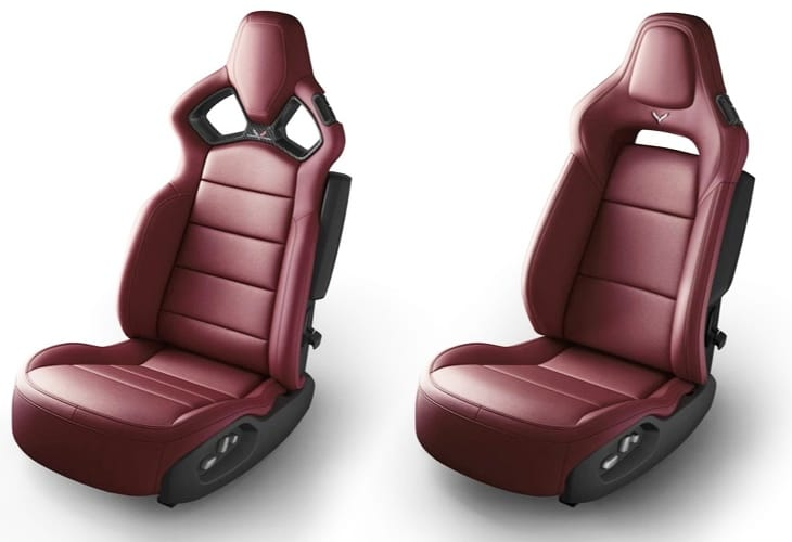 Upgrade your 2014 Corvette Stingray interior with these sexy Competition Sport Seats