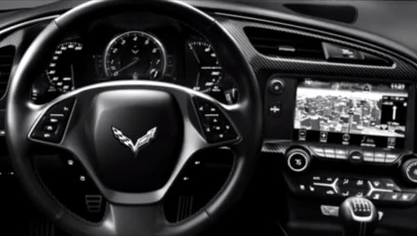 2014 Corvette Stingray interior video shows C7 progress