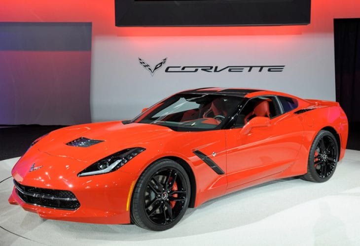 2014 Corvette Stingray price increase over 2013 model