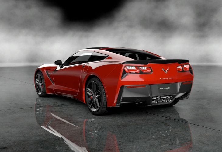 The 2014 Corvette Stingray is more powerful than the outgoing version