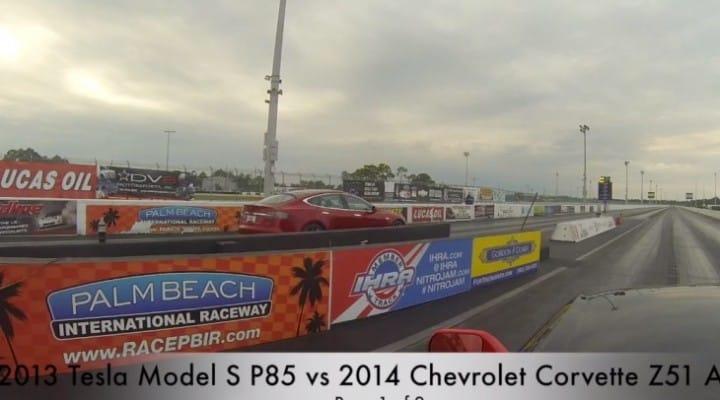 2014 Corvette Stingray vs. Tesla Model S, surprising outcome