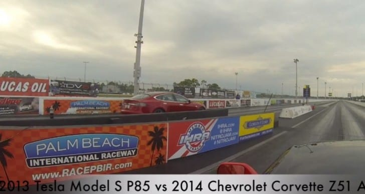 2014 Corvette Stingray vs. Tesla Model S, surprising outcome