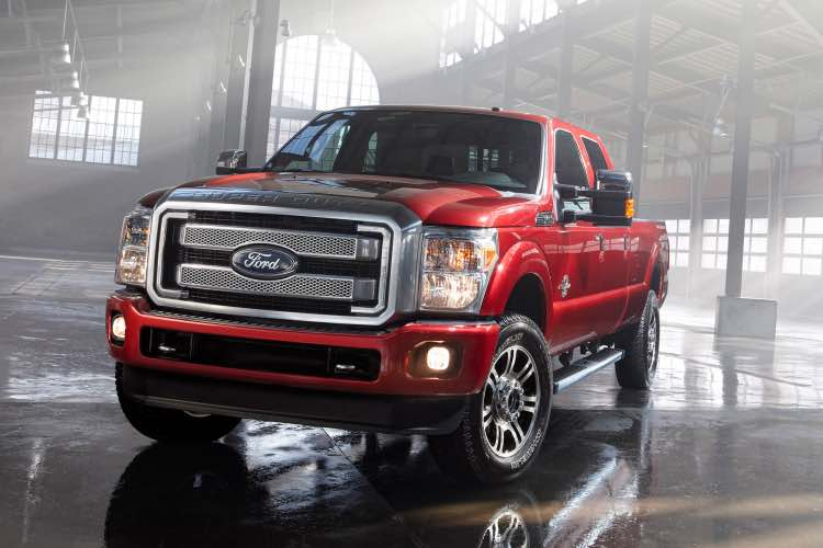 2014 F-Series Super Duty recall