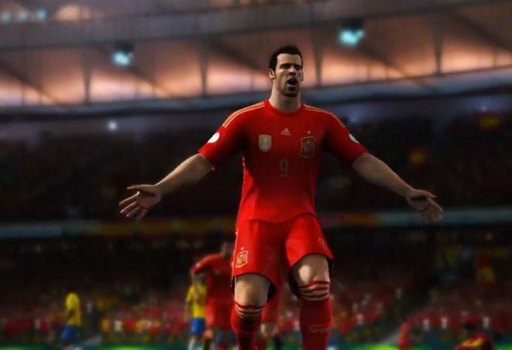 2014 FIFA World Cup gameplay anguish for PS4, Xbox One