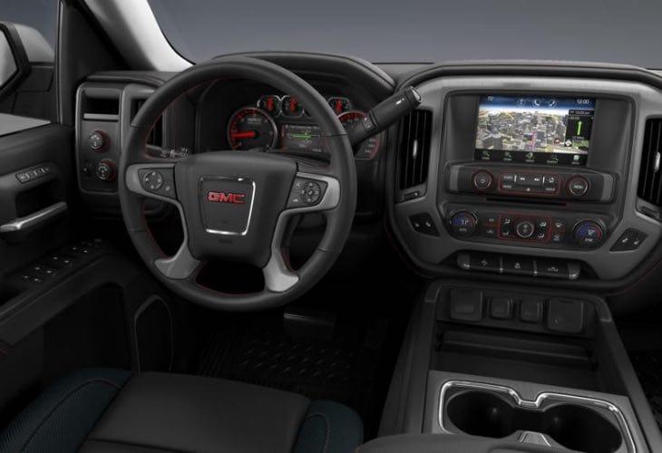 2014 GMC Sierra 1500 SLT interior