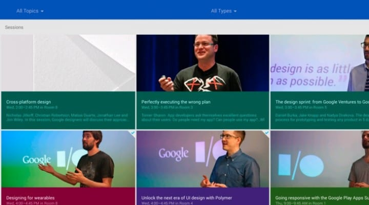 2014 Google I/O Android app update lands
