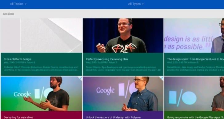 2014 Google I/O Android app update lands