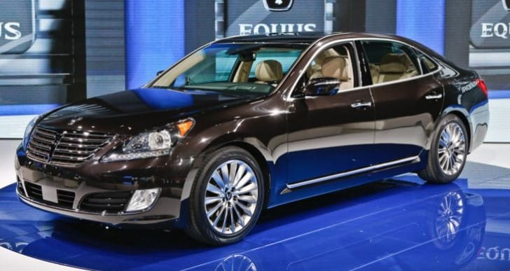 2014 Hyundai Equus Ultimate specs in first look