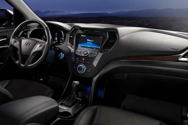 2014 Hyundai Santa Fe SUV interior