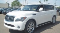 2014 Infiniti QX80 changes revealed in hands-