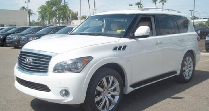 2014 Infiniti QX80 changes revealed in hands-on