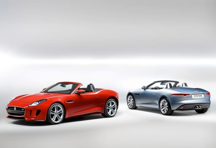 2014 Jaguar F-Type V8 S specs up close