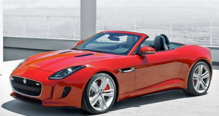2014 Jaguar F Type marketing entices specs