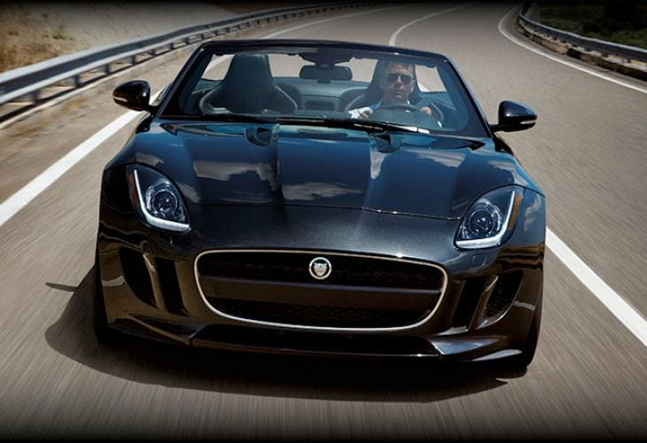 2014 Jaguar F-type attractive price encourages sales