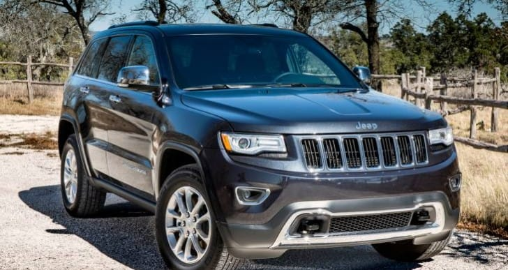 2014 Jeep Grand Cherokee and RAM recalls list