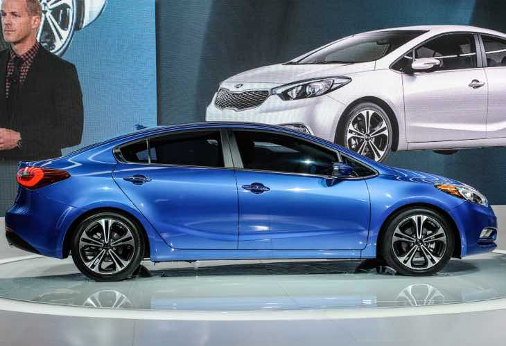 2014 Kia Forte affected by recall