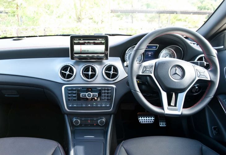 2014 Mercedes GLA interior