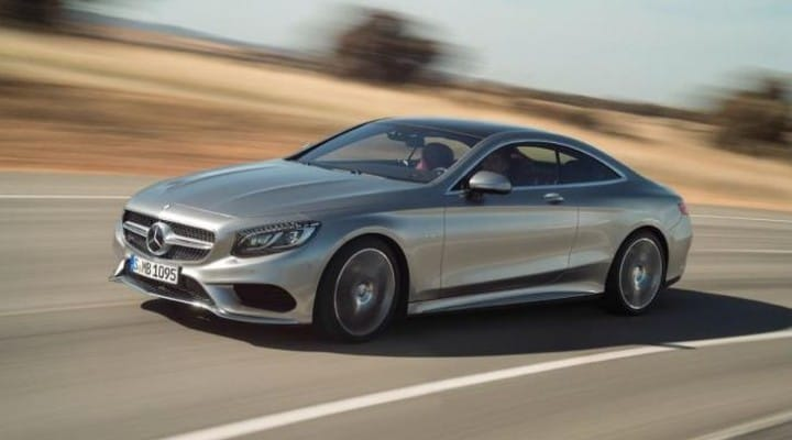 2014 Mercedes S-Class Coupe: images, price and availability