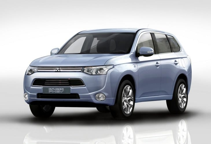 2014 Mitsubishi Outlander PHEV review opportunity