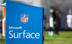 2014 NFL Season fears with Microsoft Surface miscommunication