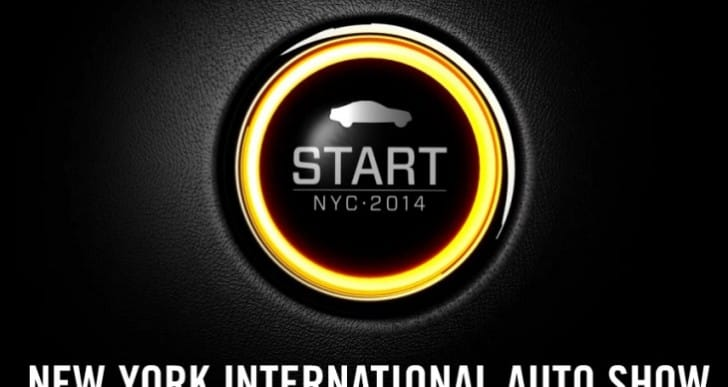 2014 New York Auto Show car list swells