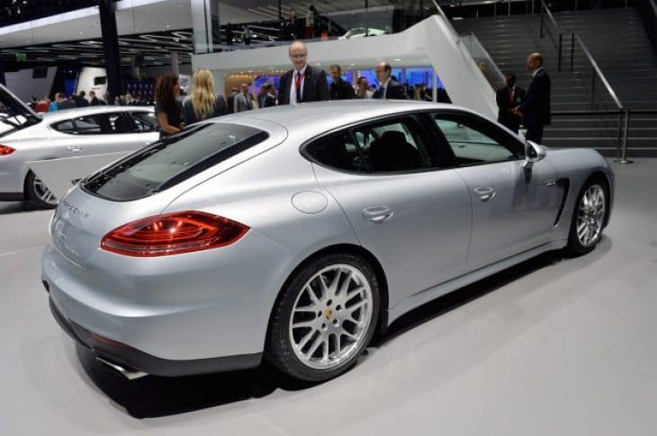 2014 Porsche Panamera Diesel on show at Frankfurt Motor Show