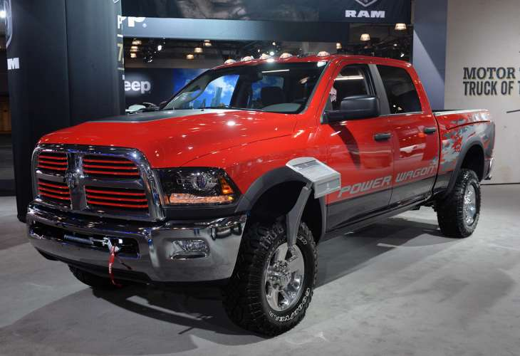 2014 Ram Power Wagon - New York release delight