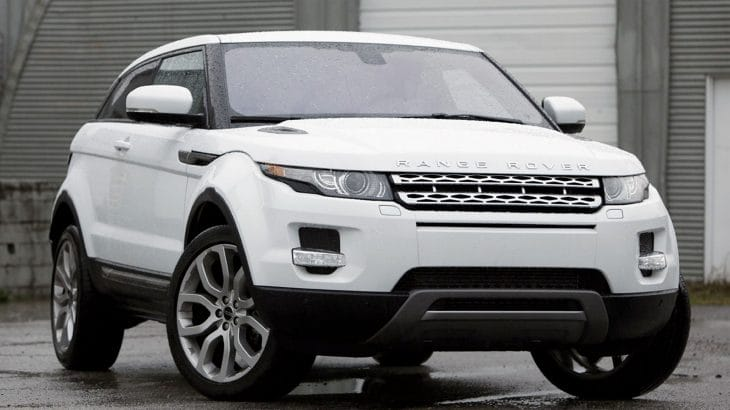2014 Range Rover Evoque mpg improvements